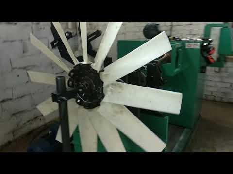 Балансировка вентилятора для охлаждения радиатора