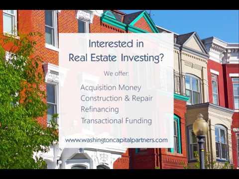 Washington Capital Partner's Loan Programs