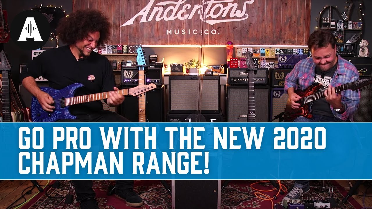 Chapman Guitars Go Pro With a Brand New Line Up for 2020!