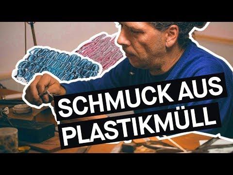 Plastik Recycling – Dieser Designer macht Schmuck aus Müll || Bavarian Makers