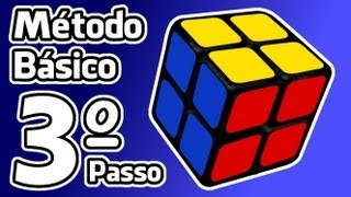 3º passo - Como resolver o cubo 2x2x2 - Método Básico