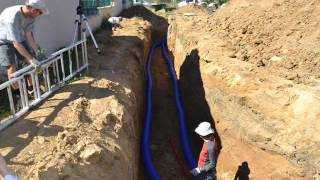 Geothermal cooling and heating through underground earth tubes: air ventilation for passive house