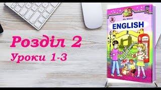 Англійська мова (2 клас) Алла Несвіт / Розділ 2 (Уроки 1-3)