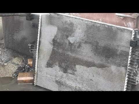 Мойка основного радиатора