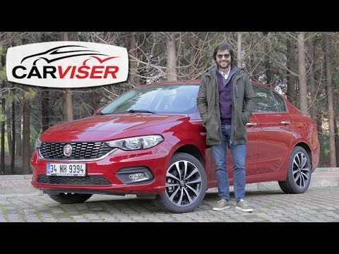 Fiat Egea 1.6 Multijet 120 HP Test Sr Review English subtitled