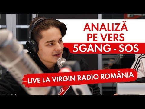 5GANG - SOS   Analiza pe vers (LIVE @ Virgin Radio Romania)