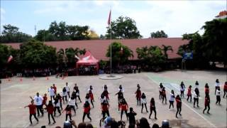 Students Flashmob SMA Negeri 2 Palembang #HondaXpresiSatuVaganza201   6