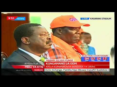 Raila Odinga's full speech after getting ODM Party endorsement as presidential candidate