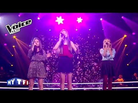 The Voice Kids 2016    Romane - Josiane -  Lynn sur ''Où je vais'' (Amel Bent)    Battle