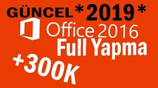 Office 2016 Etkinleştirme ve Full Sürüm yapma  + Link