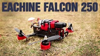 Eachine Falcon 250 FPV Racer Review and Crash Test