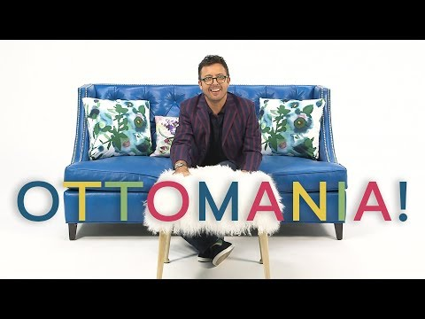 Ottomania: How to Choose Your Next Ottoman | The Furniture Geek