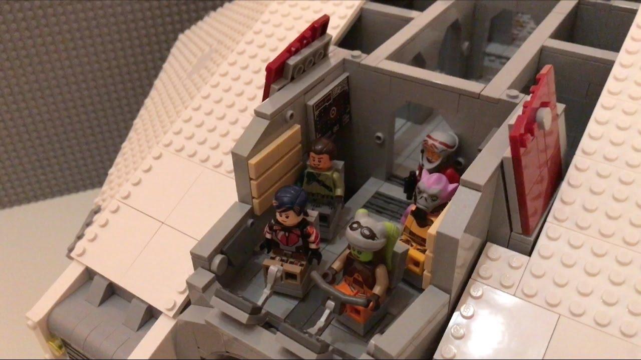 Lego Star Wars Rebels Ucs Ghost Work In Progress Wip