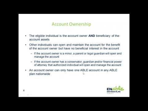 Enable Savings Plans: Nebraska's ABLE Program