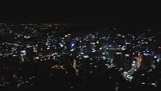 서울(남산)타워에서 바라본 서울야경