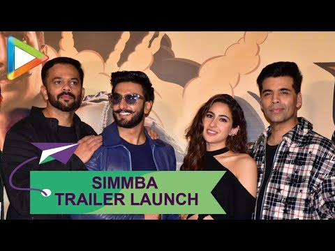 Simmba Official Trailer Launch | Ranveer Singh, Sara Ali Khan, Sonu Sood, Rohit Shetty | Part 2