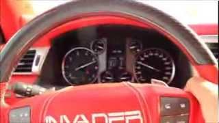 Lexus Invader Engine start, Exhaust rev & Acceleration