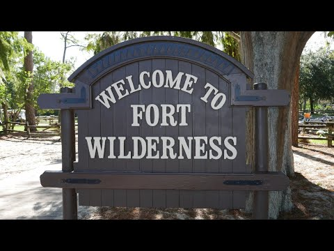 full hookup campsite fort wilderness