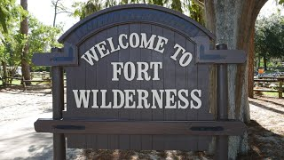 Disney's Fort Wilderness Campground Tour RV Full Time
