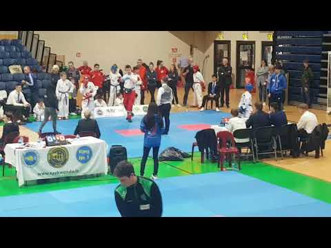 Farid at Dublin Open 2018 - Semi-final of Sparing competition
