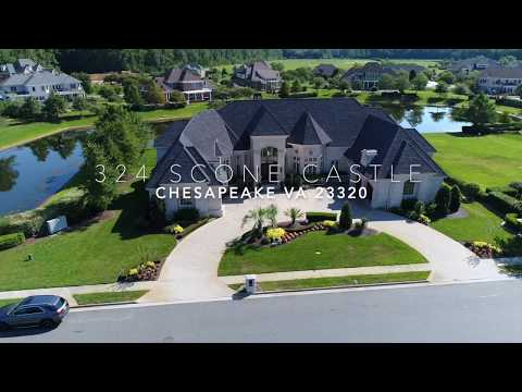 MOST BEAUTIFUL MANSION IN CHESAPEAKE VIRGINIA! FOR SALE Daniel Parrish Realtor Berkshire Hathaway