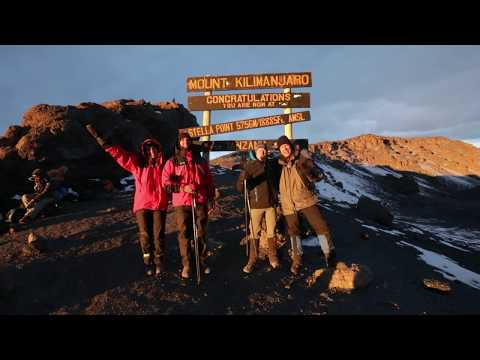 Kilimanjaro in the Darkness - Team See Possibilities