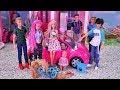 Barbie ma różowe włosy??? 🎀 Poszukiwania Kena 🎀 Rodzinka Barbie 🎀Bajka po polsku lalki
