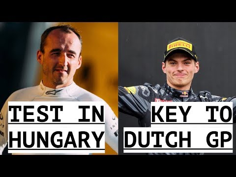 Verstappen Key to Dutch Grand Prix - Kubica Testing in Hungary - Halo Official for 2018