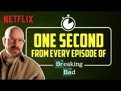 One second from every episode of Breaking Bad | Netflix