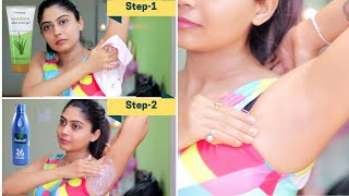 UNDERARMS WHITENING AT HOME | Rinkal Soni