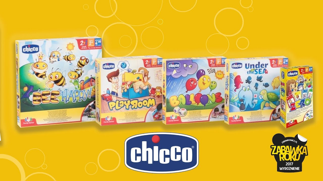 Family Games – Gry planszowe Chicco