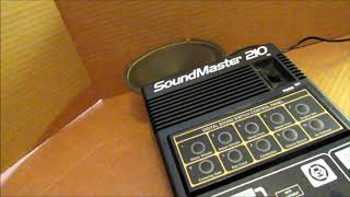 Trying out the mighty Soundmaster 210 Model Railroad sound effects machine