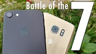 Apple iPhone 7 vs Samsung Galaxy S7: Battle of the sevens