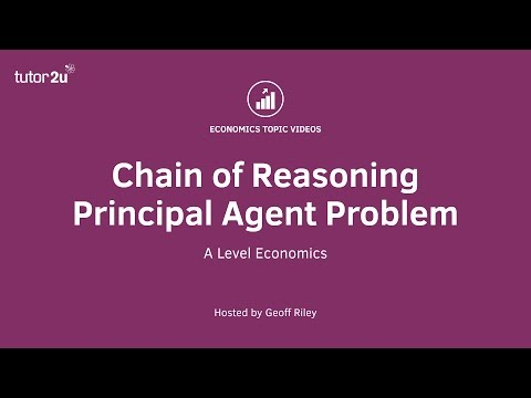 12: A Level Economics Analysis on: Principal Agent Problem