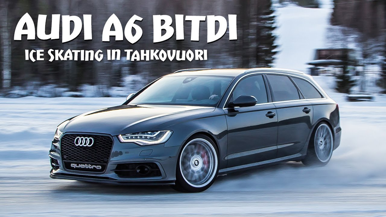 audi a6 4g bitdi ice skating 18 youtube. Black Bedroom Furniture Sets. Home Design Ideas