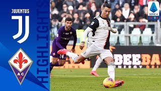 Juventus 3-0 Fiorentina | CR7 Scores Brace From The Penalty Spot