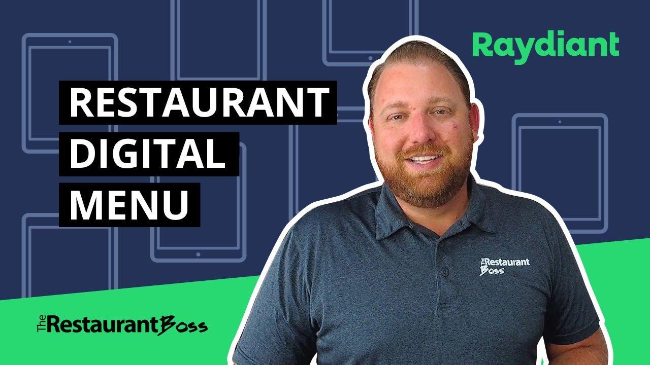 Setup Raydiant Digital Signage and Digital Menu for Restaurants