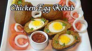 Chicken Egg Kebab - Ramadan Recipe