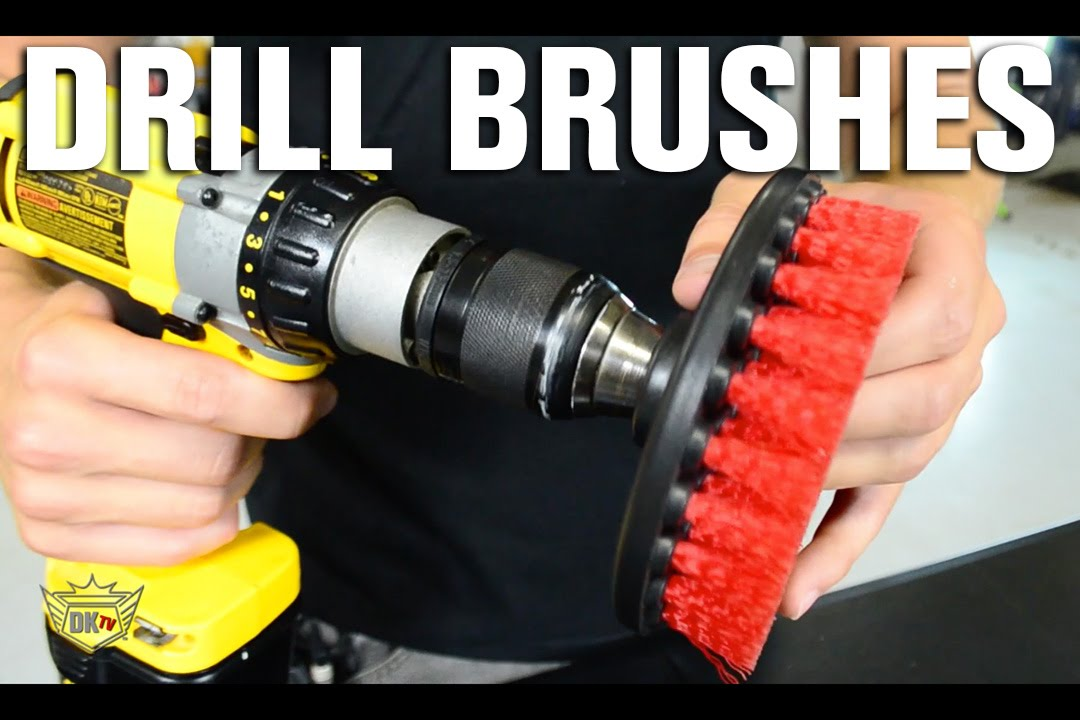 auto detailing drill brushes youtube. Black Bedroom Furniture Sets. Home Design Ideas
