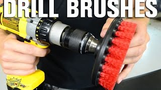 Auto Detailing Drill Brushes