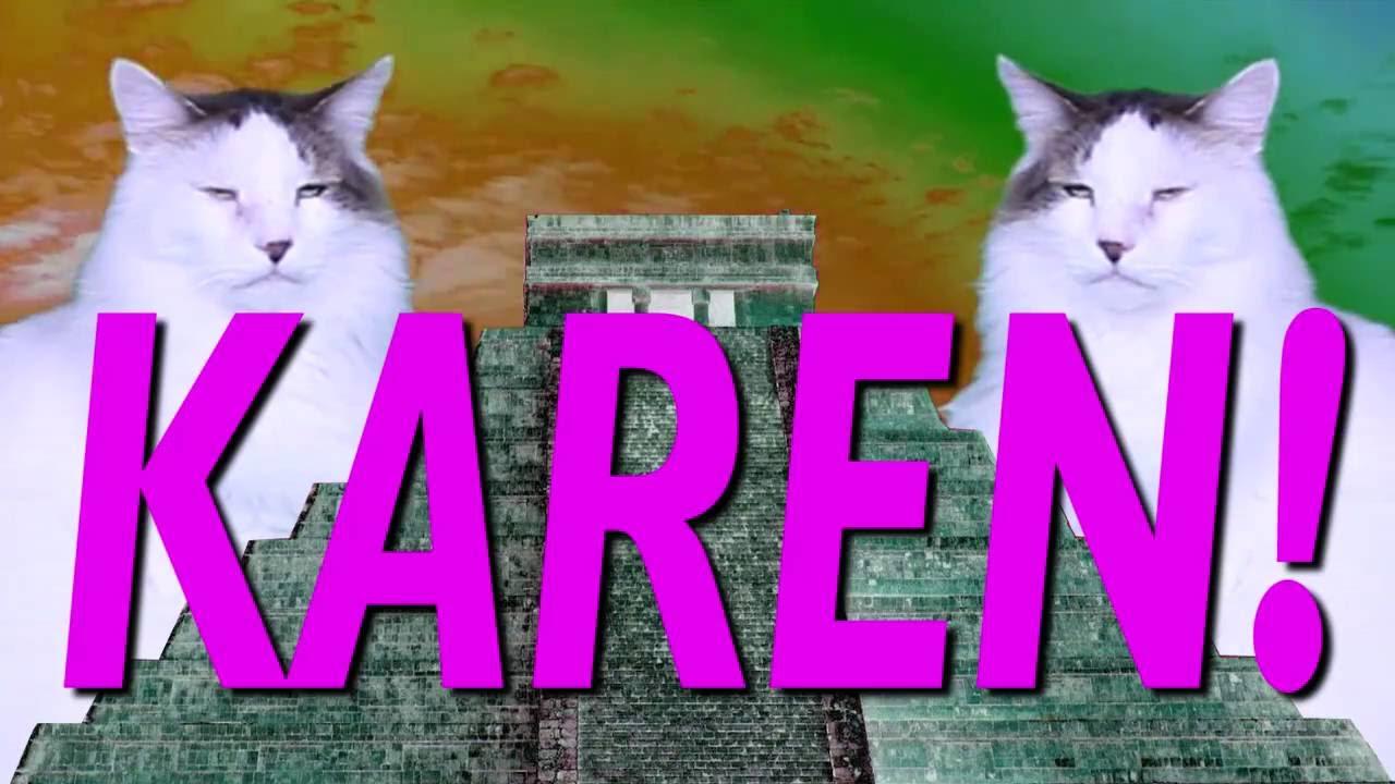 Feliz Cumpleanos Karen Cancion Comica De Cumpleanos Youtube