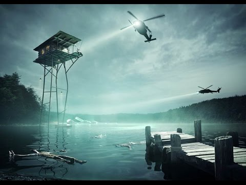 The House That Jack Built: Olson Kundig Imagines a Cabin on Stilts High Above a Polluted Lake