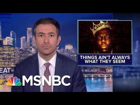Anchor Cites Biggie Smalls In Report On Book 'Warning' Against Trump | MSNBC