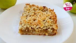 Пирог с Яблоками - никаких разрыхлителей, яиц и молочных продуктов!