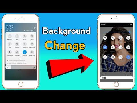 Change Status/Notification Bar Background | POT Tech