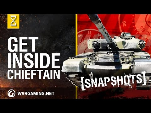 Inside the Chieftain's Hatch: Snapshots