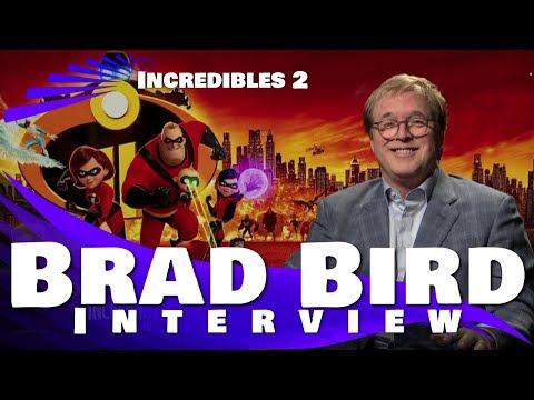 BRAD BIRD INTERVIEW - INCREDIBLES 2