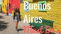 BUENOS AIRES INSIDER TIPPS & Must Do's   Argentinien Vlog #1