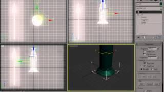 Моделирование поверхности вращения в 3Ds Max. Модификатор