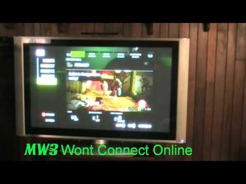 modern warfare 2 won't connect to matchmaking server